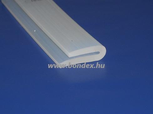 asszimetrikus szárú szilikon gumi élvédő profil